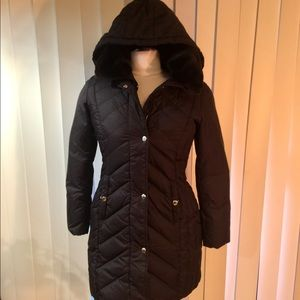 Michael Kors boded down coat S